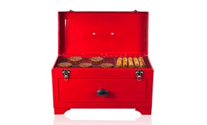 Stalwart Toolbox Style Charcoal Grill